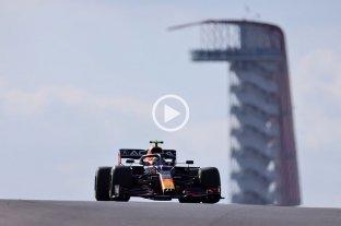 """El mexicano """"Checo"""" Pérez hizo el mejor tiempo en los ensayos para el Gran Premio de Estados Unidos"""