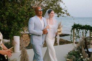 La hija de Paul Walker se casó y Vin Diesel la acompañó al altar -