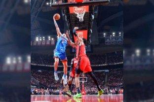 Gabriel Deck sumó sus primeros minutos de la temporada con Oklahoma ante Houston Rockets