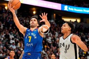Campazzo y una noche mágica en la victoria de Nuggets ante Spurs