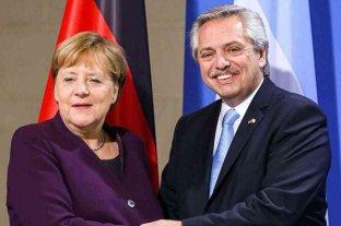"""Alberto Fernández, también se sumó al homenaje a Angela Merkel: """"Es una mujer que ha dejado huella"""""""