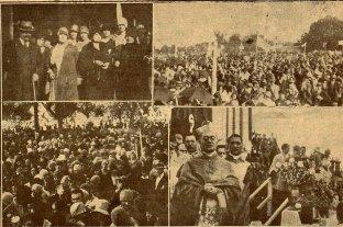 Cómo fue la coronación de la Virgen de Guadalupe en 1928 desde las crónicas de El Litoral