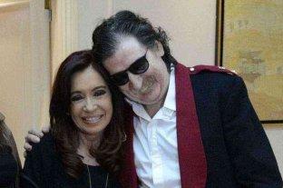 """Cristina Fernández saludó a Charly García: """"Sus canciones acompañaron los últimos 50 años de la historia argentina"""""""