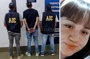 """Desde la cárcel de Ezeiza, un preso ordenó el crimen de una joven en Rosario - """"Lolo"""", uno de los detenidos por el crimen, y la víctima Mariel Lezcano."""