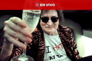 En vivo: Charly García es homenajeado en el Centro Cultural Kirchner -