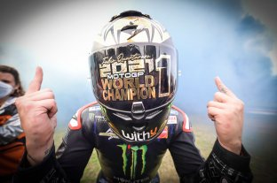 Quartararo se consagró campeón en MotoGP