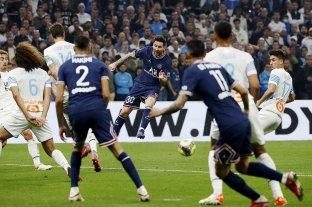 El PSG de Messi y el Marsella de Sampaoli igualaron sin goles