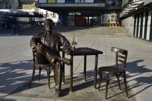 En Rosario no se salva ni Fontanarrosa: se robaron dos personajes de su escultura -