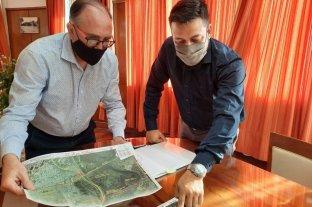 Alvizo se reunió con autoridades de Vialidad Nacional y analizó el proyecto -