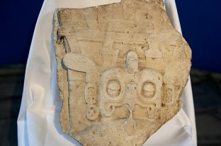Guatemala recuperó una pieza arqueológica que iban a subastar en Francia