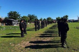 Reconquista: megaoperativo policial para desalojar un predio usurpado