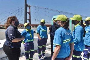 Seis mujeres a la planta de Cliba