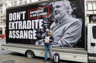 "Aseguran que Julian Assange está ""en muy mal estado"" como para soportar su extradición a Estados Unidos"