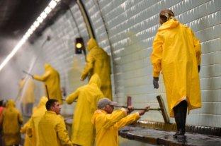 Habrá tránsito alternado a través del túnel subfluvial