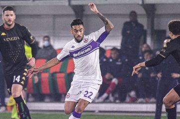 El argentino Nicolás González dio positivo de Covid y es baja en la Fiorentina