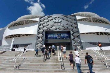 Increíble: Santiago del Estero no puede recibir a los 30.000 que entran en el Madre de Ciudades - El Madre de Ciudades. Uno de los últimos estadios que se inauguró en el país y que recibió a la Selección Argentina.