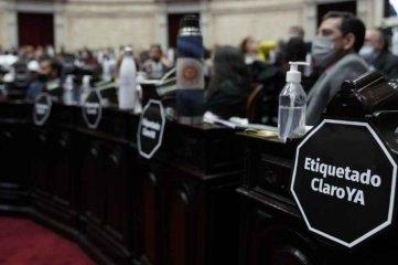 Diputados convirtió en ley el proyecto de etiquetado frontal de alimentos  -