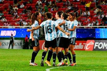 La Selección Argentina Femenina se quedó con el amistoso ante México
