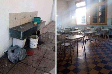 Vándalos dejaron sin agua y sin luz a  una escuela de la ciudad de Santa Fe