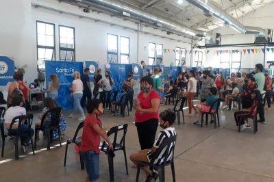 Comenzó la vacunación anti covid en menores de 11 años sin comorbilidades en Rosario
