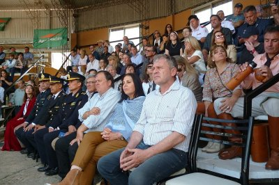 Campo, comercio y público reunidos en la Expo Rural de Chajarí