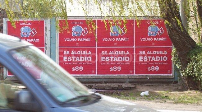 Los espacios de publicidad urbana, con un mensaje particular. Periodismo Ciudadano