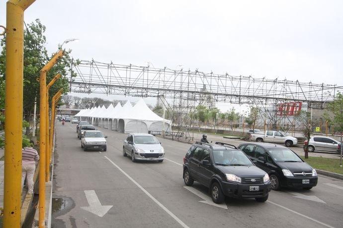 Circuito Callejero Santa Fe 2018 : Súper tc comenzó a cerrarse el circuito callejero