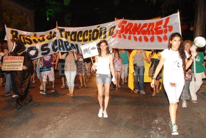 Participación<XB>. Muchos ciudadanos proteccionistas reclaman por los derechos de los animales. Flavio Raina