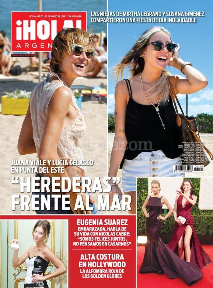 Revista Hola Argentina Logo Ponto Cruz Andreia