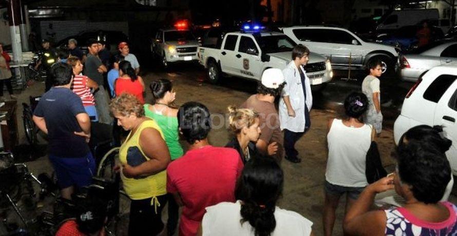 Momentos de confusión se vivieron en el centro médico. <strong>Foto:</strong> Diario ABC Color