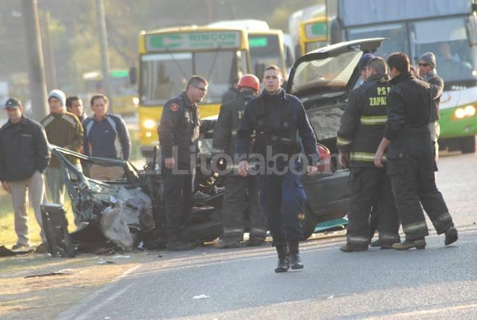 El tránsito estuvo interrumpido a primera hora de la mañana y luego fue liberado. Flavio Raina