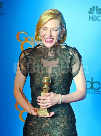 Cate Blanchett, mejor actriz dram�tica por �Blue Jazmine�. EFE