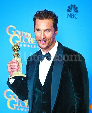"Matthew McConaughey, mejor actor dramático por ""Dallas Buyers Club"". EFE"