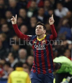 Messi. <strong>Foto:</strong> EFE (archivo)